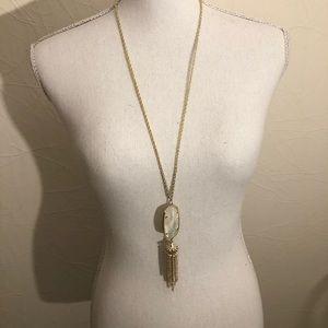 Kendra Scott Rayne Gold and Ivory Necklace
